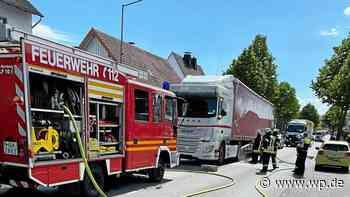 Marsberg: Eine Serie von Bränden hält die Feuerwehr in Atem - Westfalenpost