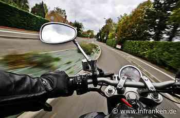Mehr als 100 Motorradfahrer in Ebern am Feiertag kontrolliert: Polizei stellt auf beliebter Strecke Verstöße fest - inFranken.de