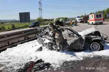 Nach schwerem Unfall auf A8 bei Saarwellingen: Beifahrerin (20) stirbt in Klinik - sol.de
