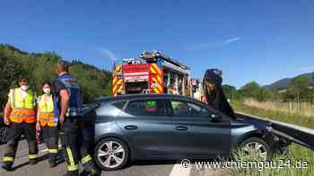 Polizei sucht Zeugen bei Siegsdorf: Von Daimler auf A8 geschnitten: Seat-Fahrer verliert Kontrolle und krac... - chiemgau24.de