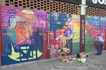 Taparon un mural en homenaje a los hinchas de Argentinos Juniors desaparecidos - Nueva Ciudad