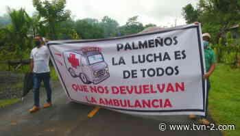 Residentes de Las Palmas exigen mejores condiciones de salud - TVN Panamá