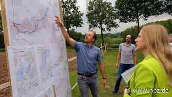 Anwohner sauer: Plant Amprion die 380-kV-Trasse zu nah an ihren Häusern? - noz.de - Neue Osnabrücker Zeitung