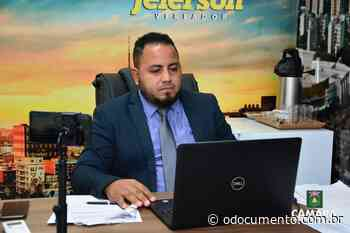 Pastor Jeferson fiscaliza obras do PSF do Novo Horizonte - O Documento