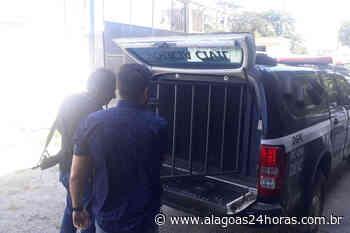 Foragido suspeito de homicídio no Mato Groso é preso em Messias - Alagoas 24 Horas