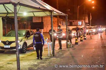 Barreiras restritivas de Guaratuba já bloquearam pelo menos 241 carros desde quarta - Bem Paraná - Bem Paraná