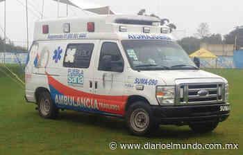 Perdería Ajalpan ambulancia de SUMA - Diario El Mundo de Córdoba