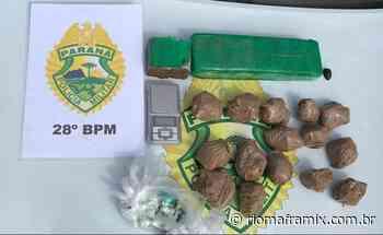 Polícia Militar faz a maior apreensão de cocaína de Rio Negro e recupera carro roubado - Riomafra Mix