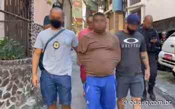 Conhecido como maior traficante de Sergipe, 'Sapão' é preso na Rocinha - Jornal O Dia