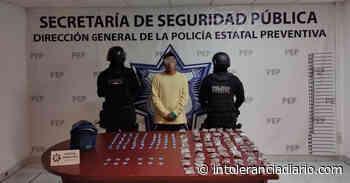 """Detienen en Atlixco a presunto narcomenudista de """"Los Angelinos 13"""" - Intolerancia Diario"""