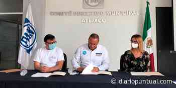 Guillermo Velázquez se compromete con el medio ambiente en Atlixco - Diario Puntual