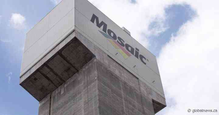 Mosaic immediately closing Esterhazy K1, K2 potash mine shafts - Global News