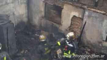 Voraz incendio en Villa Fiorito – InfoRegión - InfoRegión