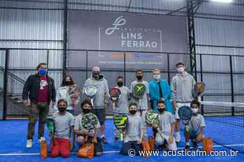 Solidariedade: Instituto Lins Ferrão promove Padel para crianças - Rádio Acústica FM