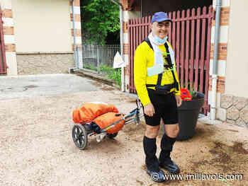 Millau. Luc Pace boucle la diagonale 7 en 25 jours de marche et 638 km ! - Millavois.com