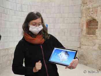 Bernay : une équipe d'archéologues réalise un relevé numérique de l'abbatiale - L'Eveil Normand