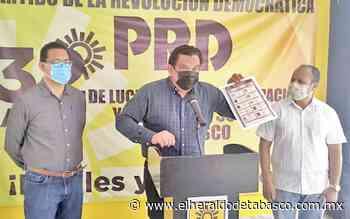 Exhibe PRD boleta tachada a favor de Morena en Macuspana - El Heraldo de Tabasco