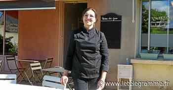 Le restaurant La Pension, au Laber à Roscoff, aménage une terrasse - Le Télégramme
