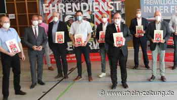 Landesfeuerwehrverband zu Gast in Katzwinkel: Firmen für Unterstützung ausgezeichnet - Rhein-Zeitung