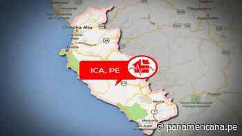 Ica: sismo de magnitud 4.5 se registró hace instantes en Nazca - Panamericana Televisión