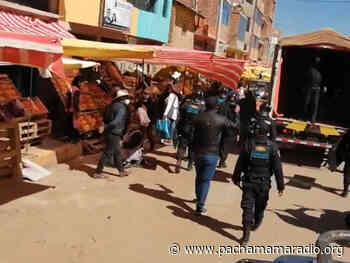 Comerciantes invaden vía pública a pesar de tener tiendas en jirón Tarma de Juliaca - Pachamama radio 850 AM