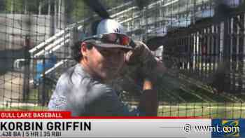 Gull Lake baseball standout impresses at the plate, ready for return to the mound - WWMT-TV