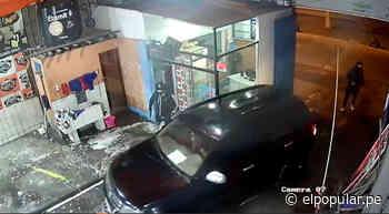 San Martin de Porres: Delincuentes ingresan a Car Wash y roban camioneta [VIDEO] - ElPopular.pe