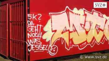 Schmierereien in der Stadt: Ganz Hagenow ist genervt von Graffitis   svz.de - svz – Schweriner Volkszeitung