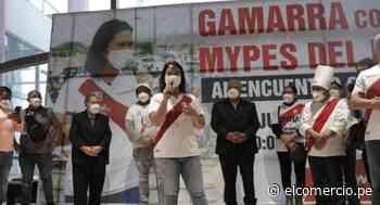 """Keiko Fujimori a empresarios de Gamarra: """"Hice algunas cosas bien y cometí errores, por eso pido perdón"""" - El Comercio Perú"""