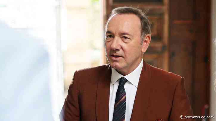 Kevin Spacey books 1st film role following sexual assault allegations - ABC News