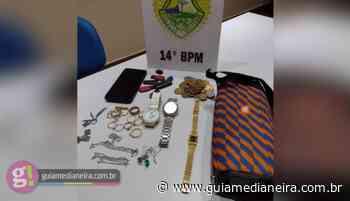 Medianeira: PM prende autor de furtos e recupera objetos - Guia Medianeira