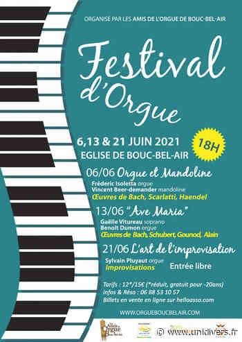 Festival d'Orgue de Bouc-Bel-Air Eglise Saint-Andre dimanche 6 juin 2021 - Unidivers