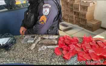 Em Itaperuna, ação do 29° BPM desenterra maconha e balança de precisão - Jornal O Dia