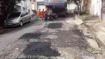 Secretaria de Obras de Itaperuna atende diversos pontos do município durante a semana. - Defesa - Agência de Notícias