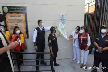 Ministerio del Interior inaugura comisaría en el distrito piurano de Catacaos - Agencia Andina
