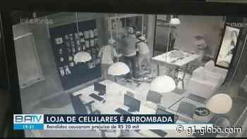Loja que vende celulares é arrombada em Ribeira do Pombal antes de ser inaugurada; bandidos roubam aparelhos e acessórios - G1