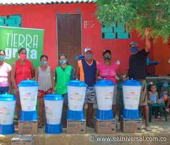 Familias de Villanueva y San Juan Nepomuceno recibieron filtros de agua - El Universal - Colombia