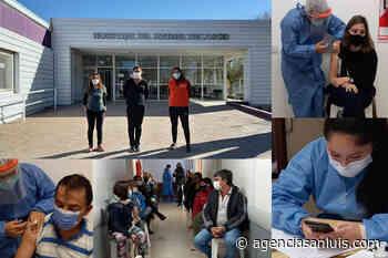 Vacunación en el departamento Chacabuco: más de 450 citados en Concarán y Tilisarao - Agencia de Noticias San Luis