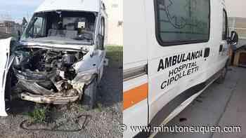 El hospital de Cipolletti tiene dos ambulancias fuera de servicio en plena pandemia - Minuto Neuquen