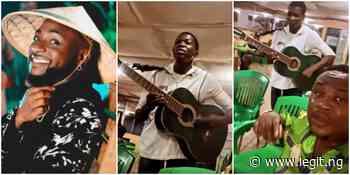 Confirmed: Davido Reacts as Cubana Chiefpriest Discovers Talented Asaba Guitarist ▷ Nigeria news - Legit.ng