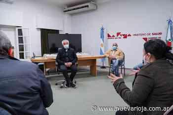 El Ministro Vergara se reunió con concejales de capital para informarles el avance del Plan de Vacunación - Nueva Rioja