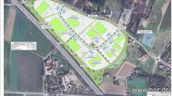 Grünes Gewerbegebiet in Melle: Heftige Kritik der Initiative - NOZ