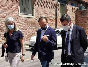 Visita a Carmagnola del presidente del Piemonte, Alberto Cirio - Il carmagnolese