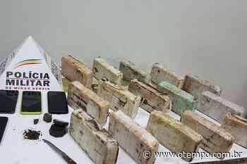 Polícia encontra 15 barras de crack em residência em Ipatinga e três são presos - O Tempo