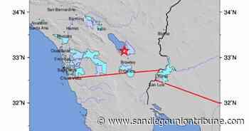 Un temblor de 5.3 grados en el condado de Imperial se siente en partes del condado de San Diego - San Diego Union-Tribune en Español
