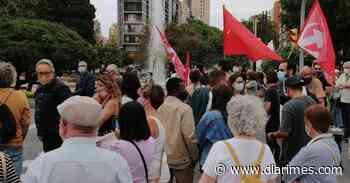 Cortan la plaza Imperial Tarraco de Tarragona como protesta por la nueva tarifa de la luz - Diari Més