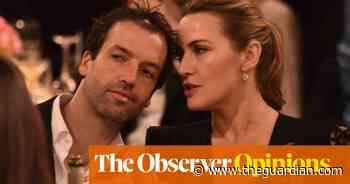 Just enjoy your success, Kate Winslet. Your husband can take care of himself - The Guardian