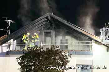 Zollernalbkreis - Hausbrand in Burladingen - Hoher Sachschaden - Stuttgarter Nachrichten