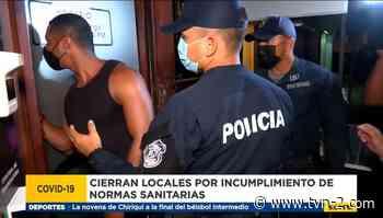 Comercios en San Felipe, Santa Ana y Calidonia incumplen medidas de bioseguridad - TVN Noticias