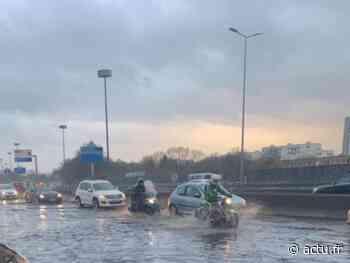Hauts-de-Seine : inondation sur l'A86 au niveau de Nanterre, la circulation très perturbée - actu.fr